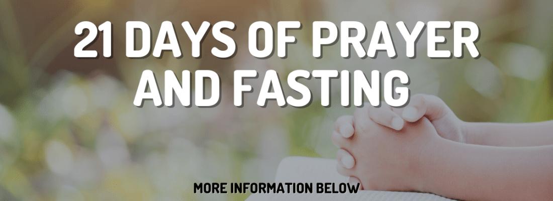 21 days of prayer