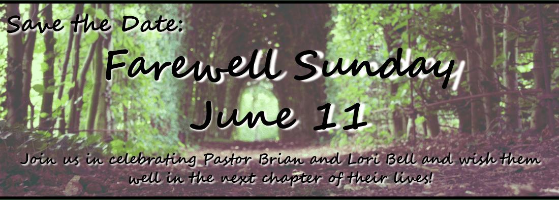 Farewell Sunday